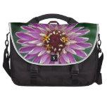 Flor tallada multi bolsas de portátil