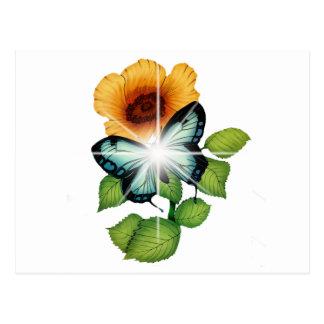 flor tarjetas postales