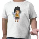 Flor tímido camisetas
