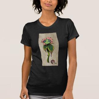 Flor triste camisetas