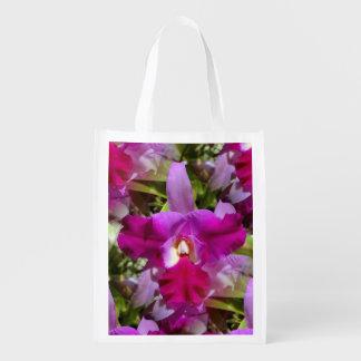 Flor tropical de la orquídea de Cattleya Bolsa De La Compra