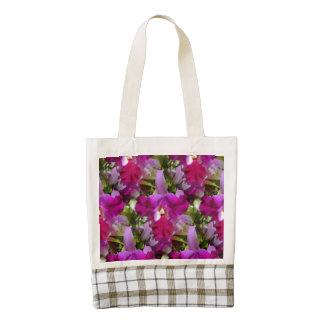 Flor tropical de la orquídea de Cattleya Bolsa Tote Zazzle HEART