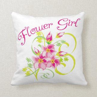 Flor tropical del florista cojines