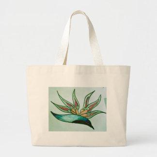 Flor tropical estilizada bolsas