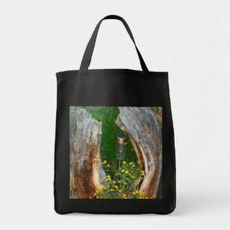 Flor única Hagbags del tocón de árbol Bolsa