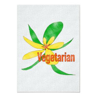 Flor vegetariana anuncio personalizado