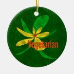 Flor vegetariana ornamento de reyes magos