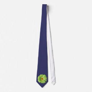 Flor verde de la margarita del Gerbera Corbata