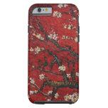 Flor Vincent van Gogh de la almendra Funda De iPhone 6 Tough