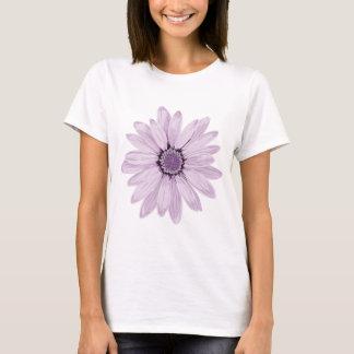 Flor violeta púrpura playera