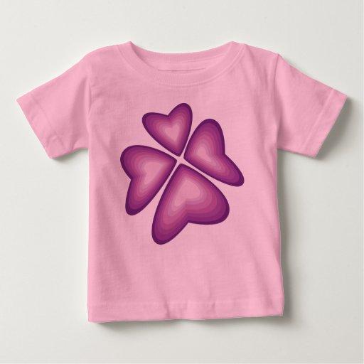 flor violeta tee shirt