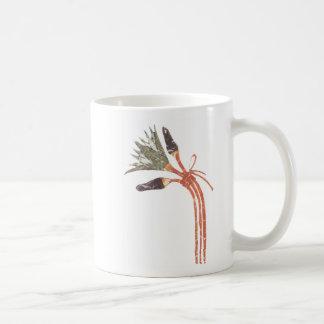 Flor y brotes de Lotus Taza De Café