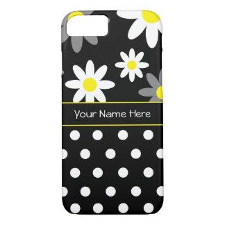 Flor y caso del iPhone 7 de Personalizable del Funda iPhone 7