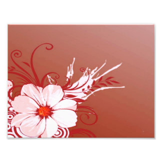 Flor y remolinos fotografias