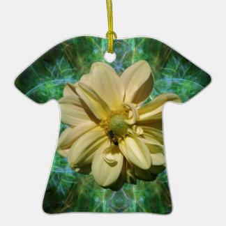 Flor y significado de la dalia ornamento para arbol de navidad