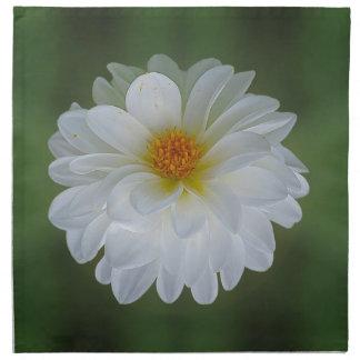 Flor y significado de la dalia servilletas imprimidas