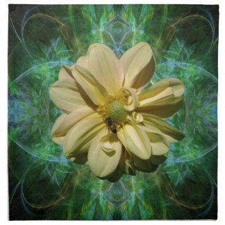 Flor y significado de la dalia servilletas