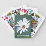 Flor y significado de la margarita baraja de cartas