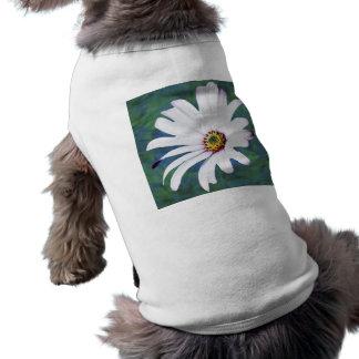 Flor y significado de la margarita playera sin mangas para perro