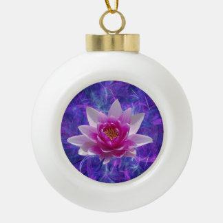 Flor y significado de loto rosada adorno