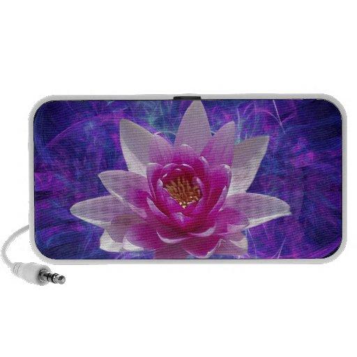Flor y significado de loto rosada notebook altavoces