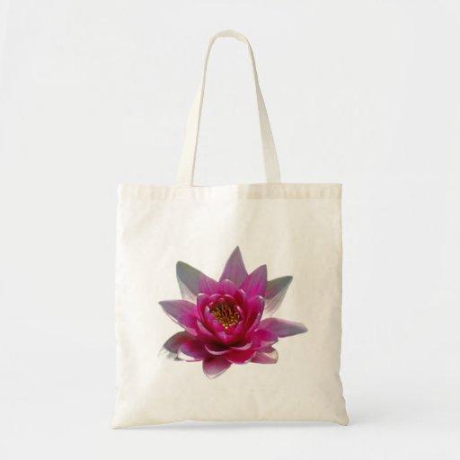 Flor y significado de Lotus Bolsas De Mano