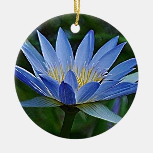Flor y significado de Lotus Adorno Redondo De Cerámica