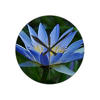 Flor y significado de Lotus Reloj Redondo Mediano