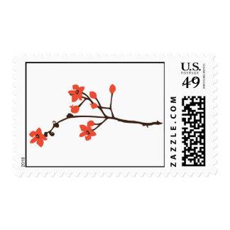 Flora 08 postage