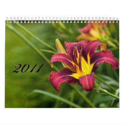 Flora 2011 calendario