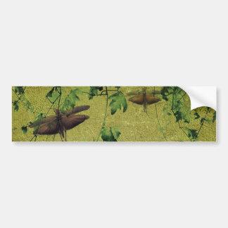 Flora and Fauna Bumper Sticker