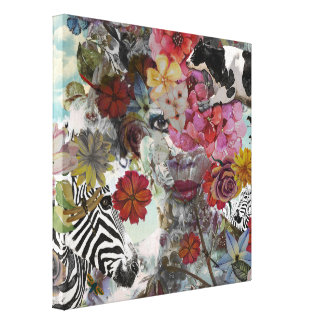 Flora and Fauna Canvas Print