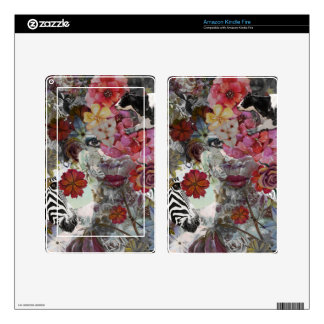 Flora and Fauna Kindle Fire Decal