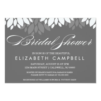 Flora Bridal Shower Invites | Wedding