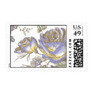 Flora Budding by Ceci New York Postage Stamp