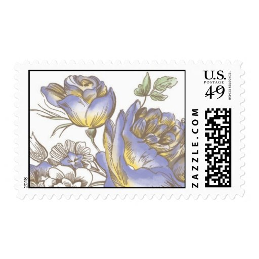 Flora Budding by Ceci New York Stamp