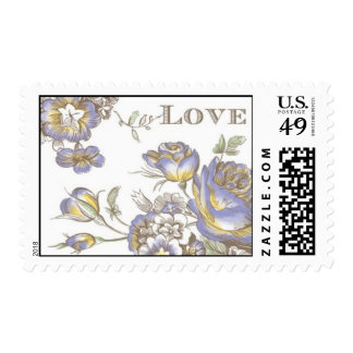 Flora Budding Love by Ceci New York Postage Stamp