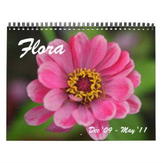 flora calendario de 18 meses