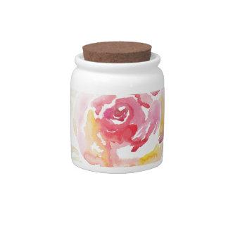 Flora Candy Jar