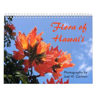 Flora de Hawai'i Calendario