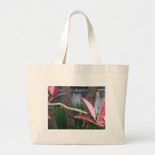 Flora de la charca bolsa tela grande