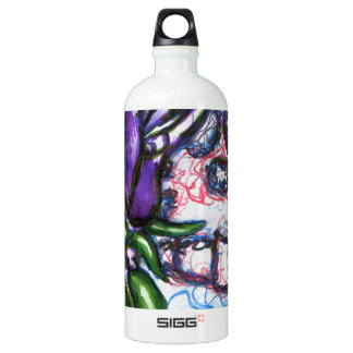 Flora De  La Muerto Water Bottle