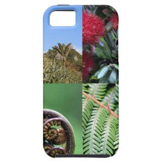 Flora del natural de Kiwiana Nueva Zelanda Funda Para iPhone SE/5/5s