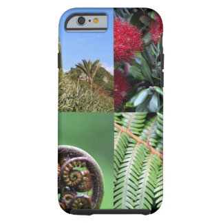 Flora del natural de Kiwiana Nueva Zelanda Funda Resistente iPhone 6