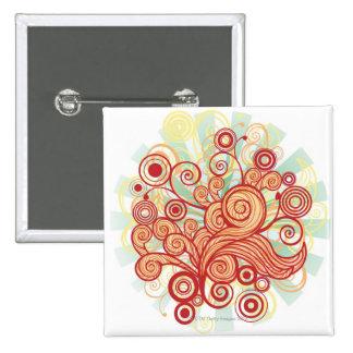 Flora Design Button
