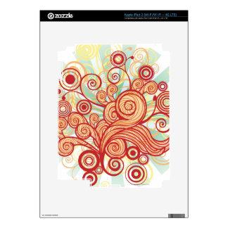 Flora Design iPad 3 Skin