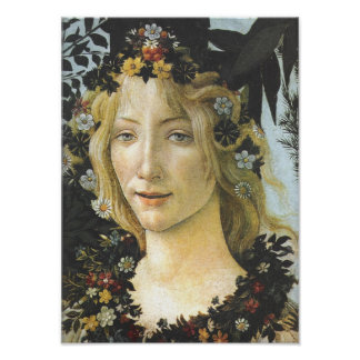 Flora (detail of Primavera), Sandro Botticelli Posters