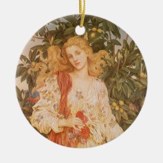 Flora diosa de flores y flores por Morgan Adornos