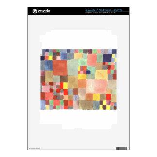 Flora en la arena de Paul Klee iPad 3 Pegatina Skin