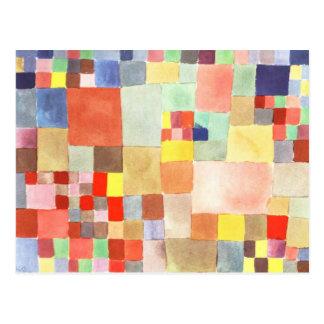 Flora en la arena de Paul Klee Postales